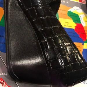 Clarks bendables Black Croc
